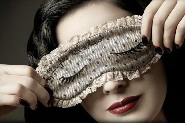 designer sleep masks